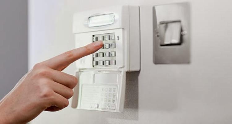Central de alarme para casa